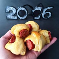 NYE 2015 Pigs in a Blanket