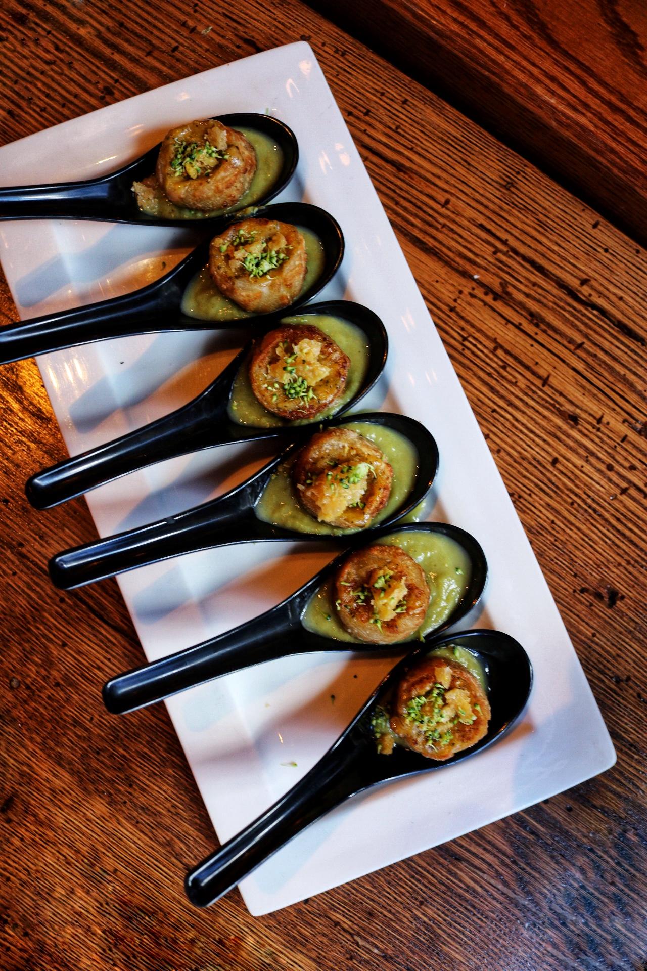 Broccoli Cheddar Soup Dumplings