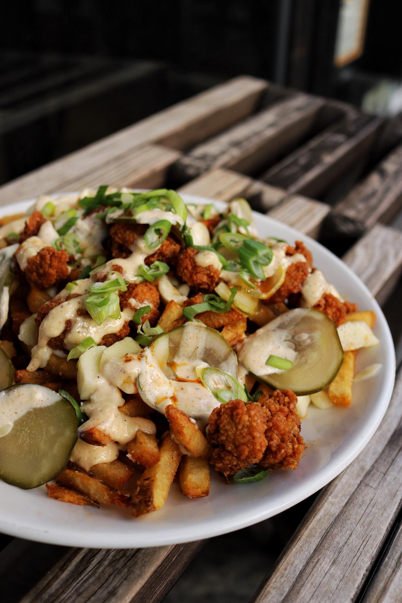 Nashville Hot Chicken Poutine Mile End Deli