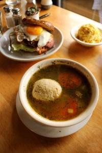 Mile End Deli matzoh ball soup