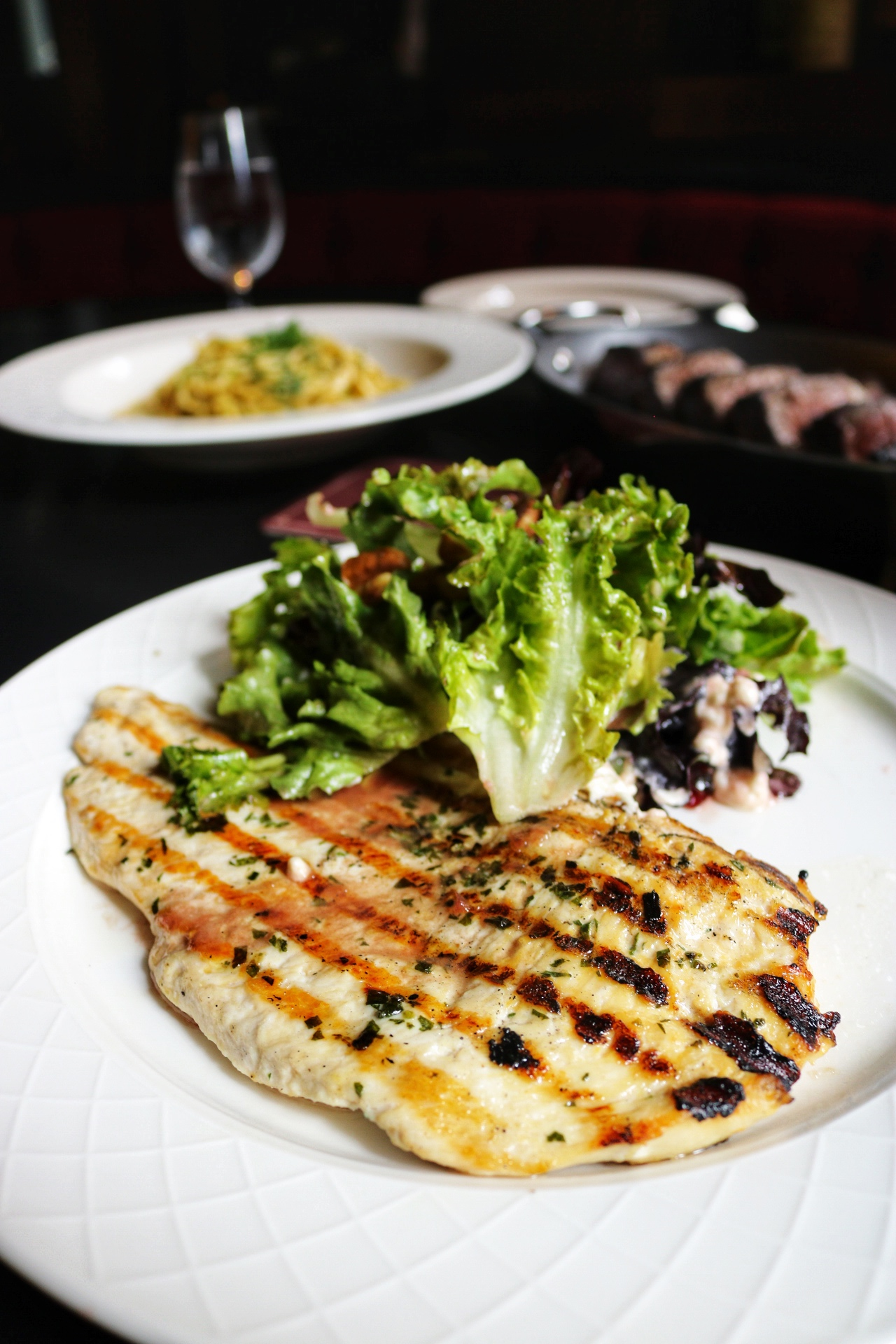 Chicken paillard harrys nyc