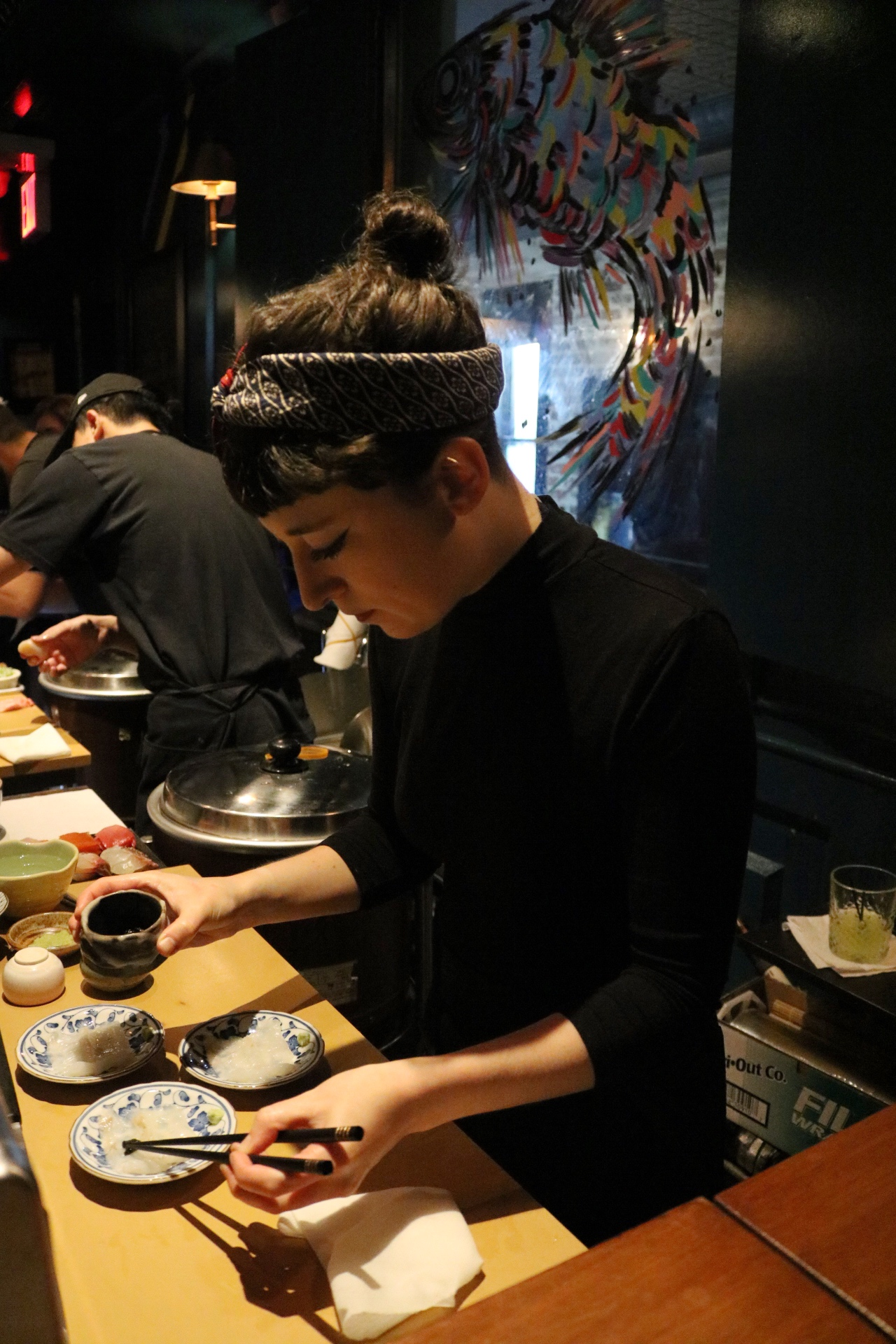 Sushi By Bae NYC Chef Oona Tempest