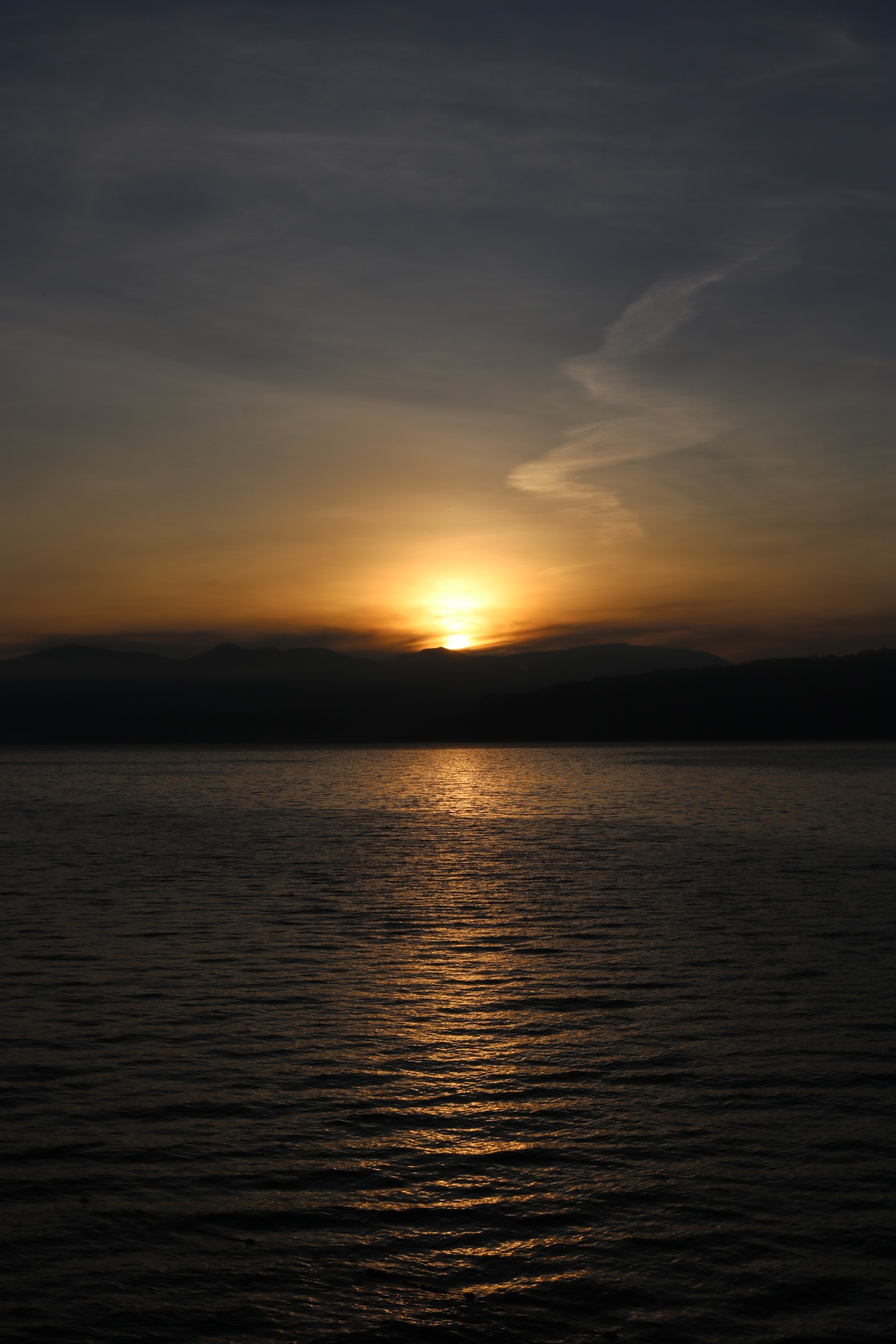 Lake Toba Sunrise