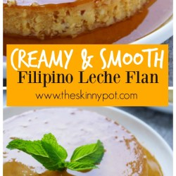 3 Ingredient No Bubbles Filipino Leche Flan