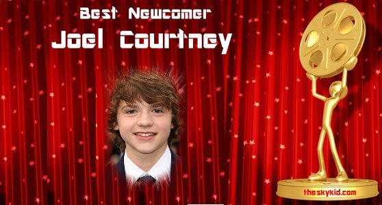 Best Newcomer Joel Courtney