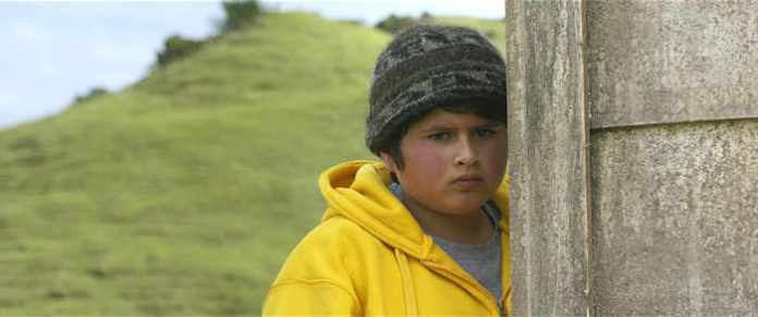 Ricky Baker (Julian Dennison) is not sure what is going to happen next.