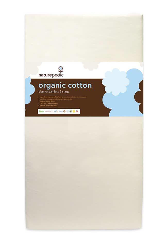 Naturepedic No Compromise Organic Cotton Classic 150 Seamless