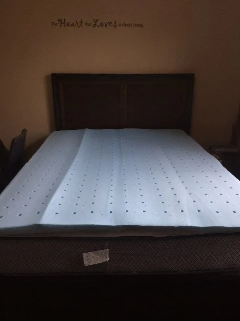 Breakdown Of The Lucid Gel Memory Foam Topper