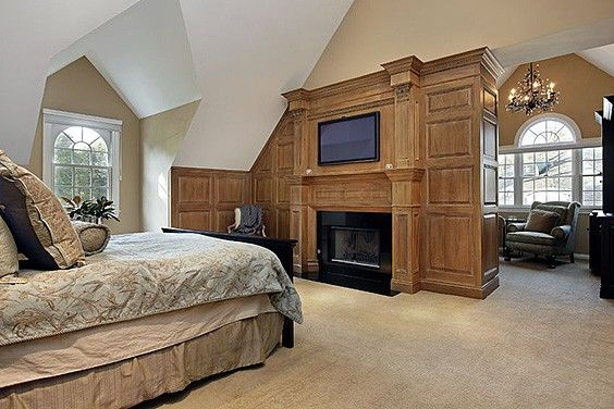 55 master bedroom fireplace ideas and design