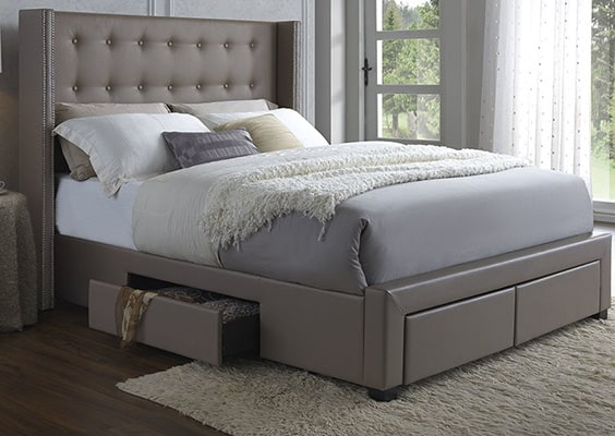 Thousand Oaks Storage Platform Bed