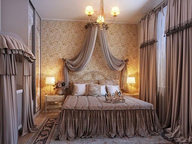 35 Spectacular Bedroom Curtain Ideas | The Sleep Judge on Draping Curtains Ideas  id=13666