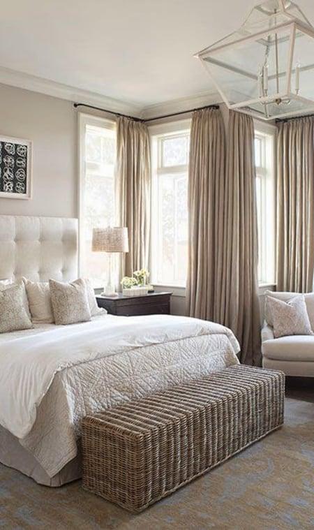 35 Spectacular Bedroom Curtain Ideas - The Sleep Judge on Master Bedroom Curtain Ideas  id=22392