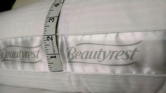 beautyrest extra firm pillow for back