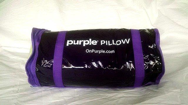 purple pillow review comfort control