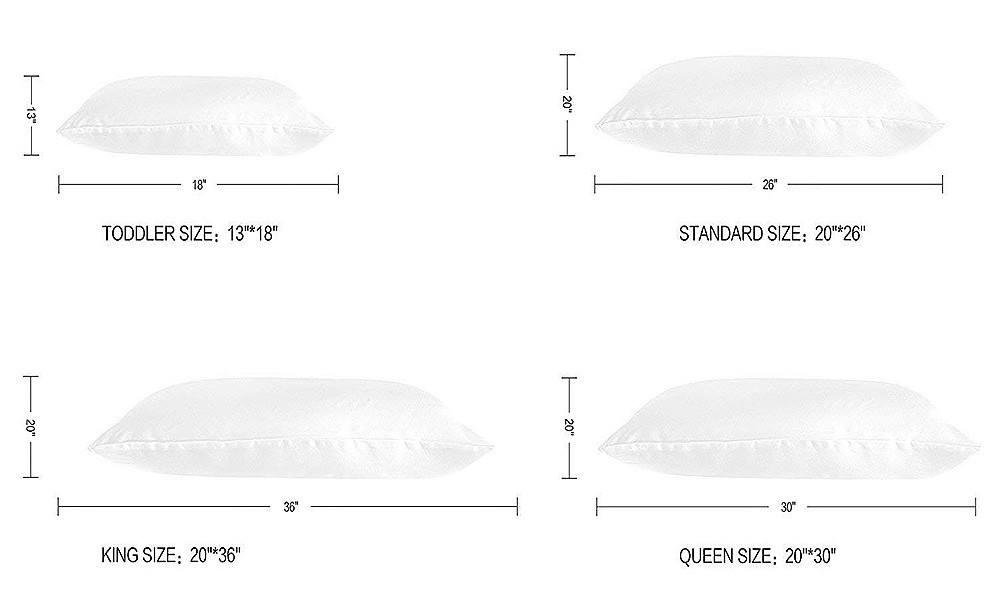 std pillow size online
