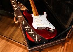 Stratocaster red strat David Gilmour studio Sleepless 4