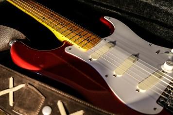 Stratocaster red strat David Gilmour studio Sleepless 7