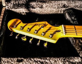 Stratocaster red strat David Gilmour studio Sleepless 8