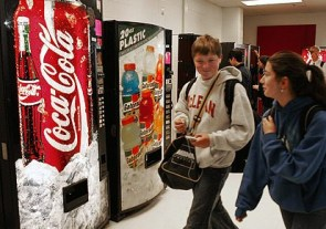 Yes to vending machines, no to sodas?