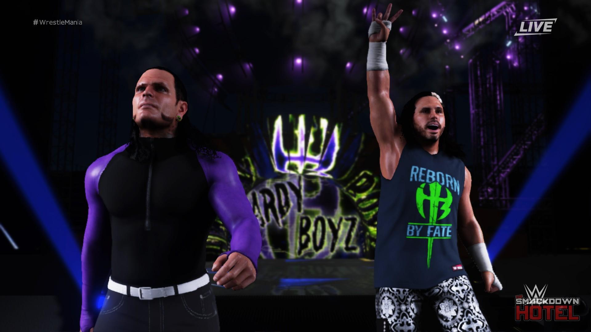 Jeff Hardy WWE 2K18 Roster