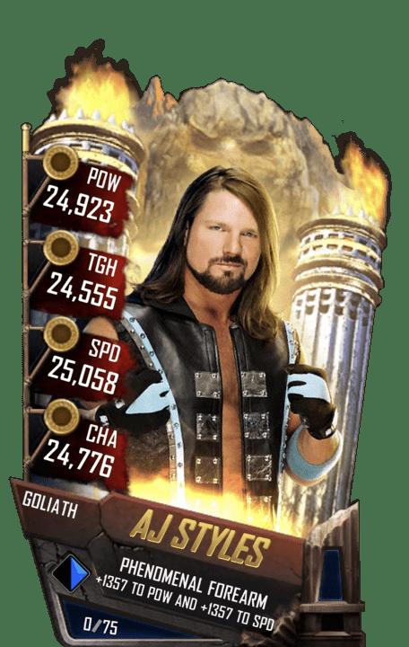 AJ Styles WWE SuperCard Season 2 Debut WWE SuperCard