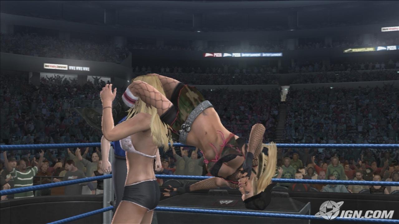 Ashley WWE SmackDown Vs Raw 2008 Roster
