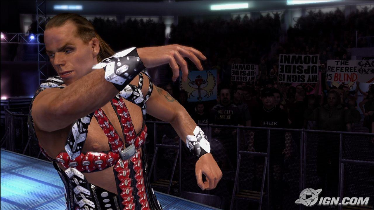 Shawn Michaels WWE SmackDown Vs Raw 2007 Roster