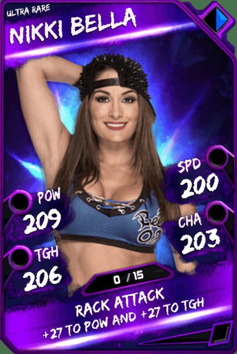 Nikki Bella WWE SuperCard Season 1 Debut WWE