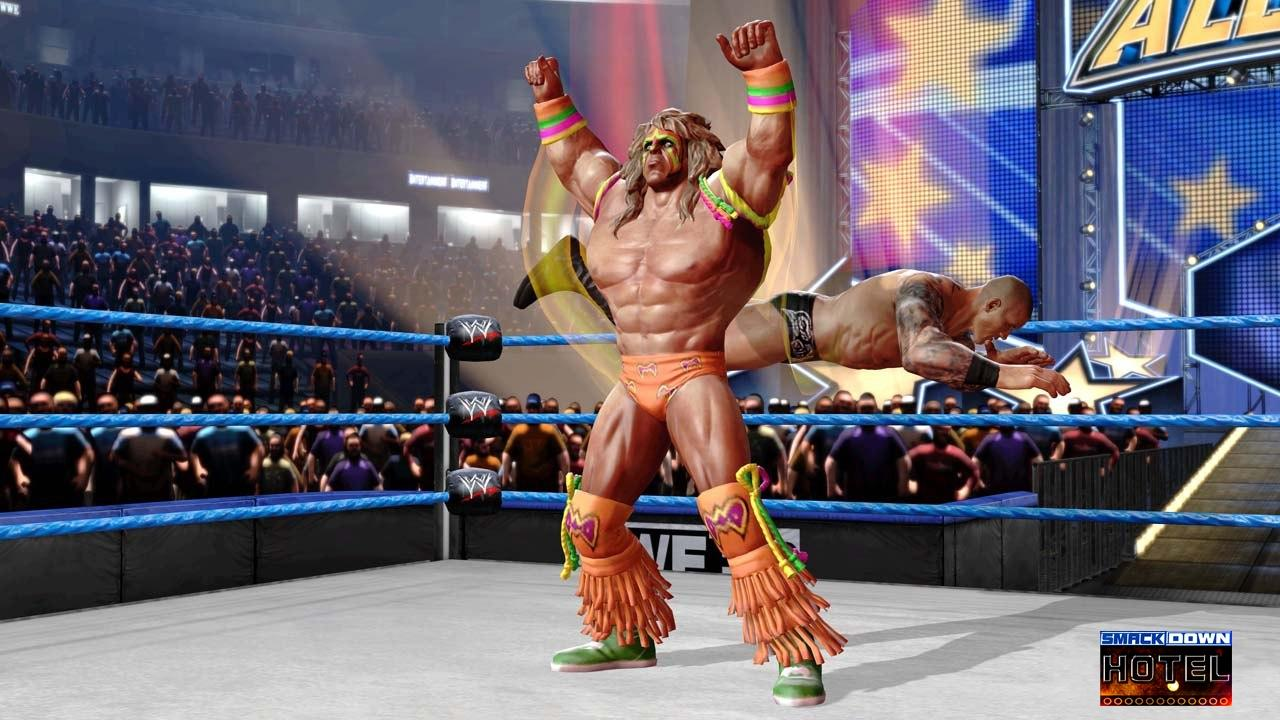 Ultimate Warrior WWE All Stars Roster