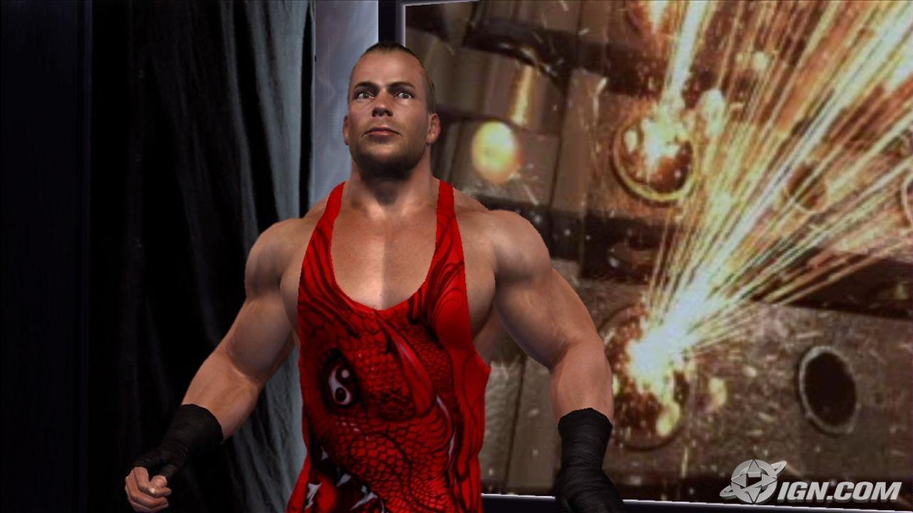 Rob Van Dam WWE SmackDown Vs Raw 2007 Roster