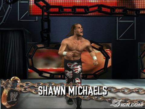 Shawn Michaels WWE WrestleMania 21 Roster