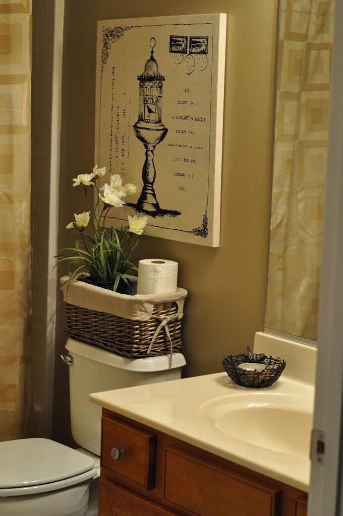 The Bland Bathroom Makeover Reveal - The Small Things Blog on Small Bathroom Ideas Pinterest id=12531