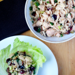 Healthy Chicken Salad / The Small Town Foodie