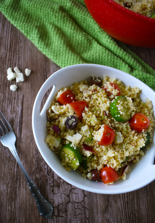 Greek Couscous Salad | The Small Town Foodie