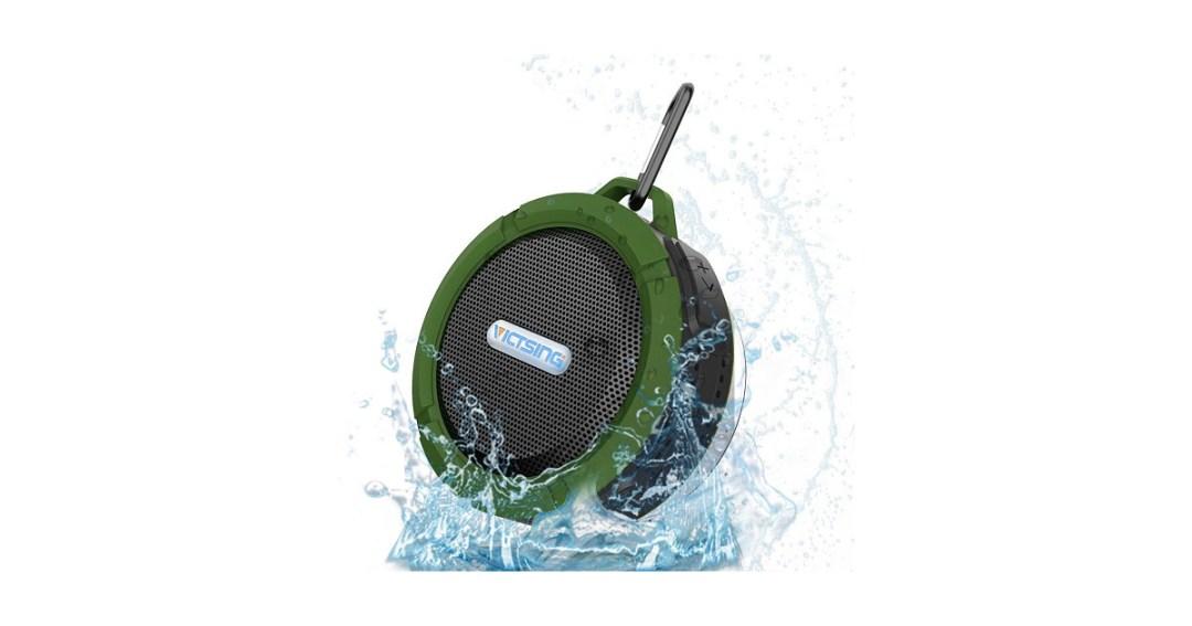 VicTsing Wireless Bluetooth 3.0 Waterproof Outdoor Speaker