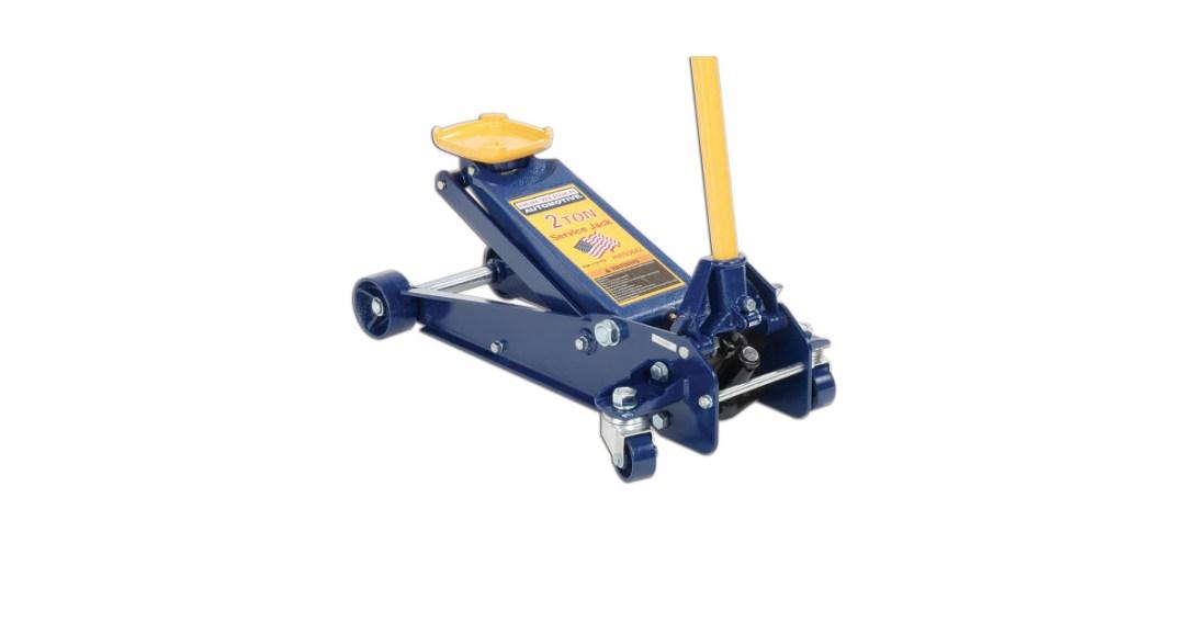 Hein-Werner HW93642 Blue Hydraulic Service Jack Gold Pick