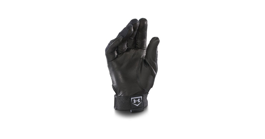 Under Armour Men's UA Clean Up Batting Gloves Gold Pick