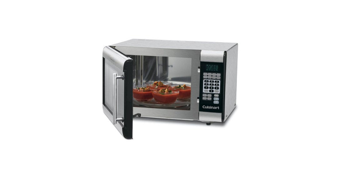 Cuisinart CMW-100 1-Cubic-Foot Stainless Steel Microwave Oven Gold Pick, Best Countertop Microwave