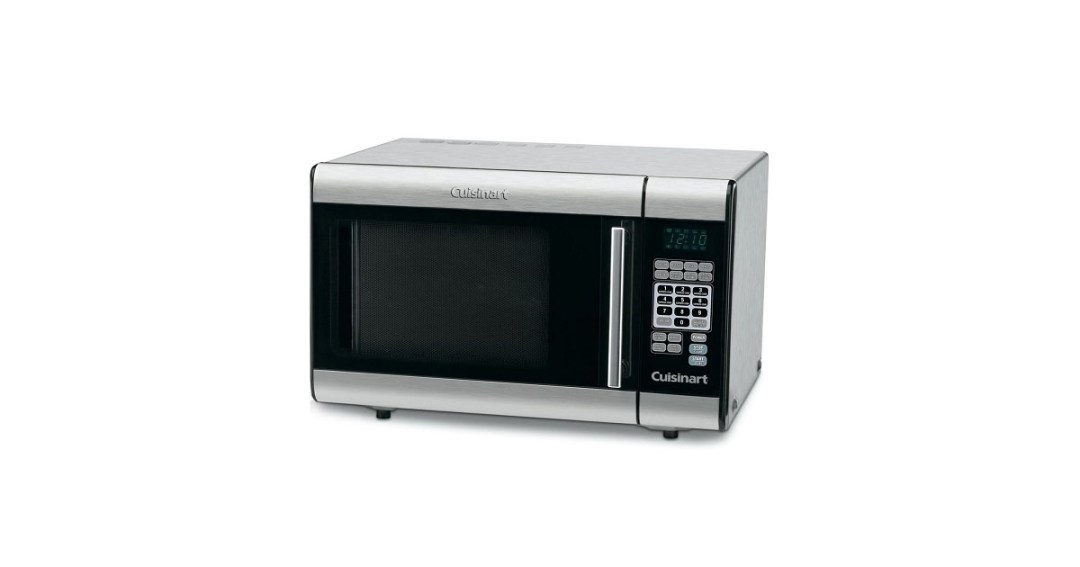 Cuisinart CMW-100 1-Cubic-Foot Stainless Steel Microwave Oven, Best Countertop Microwave