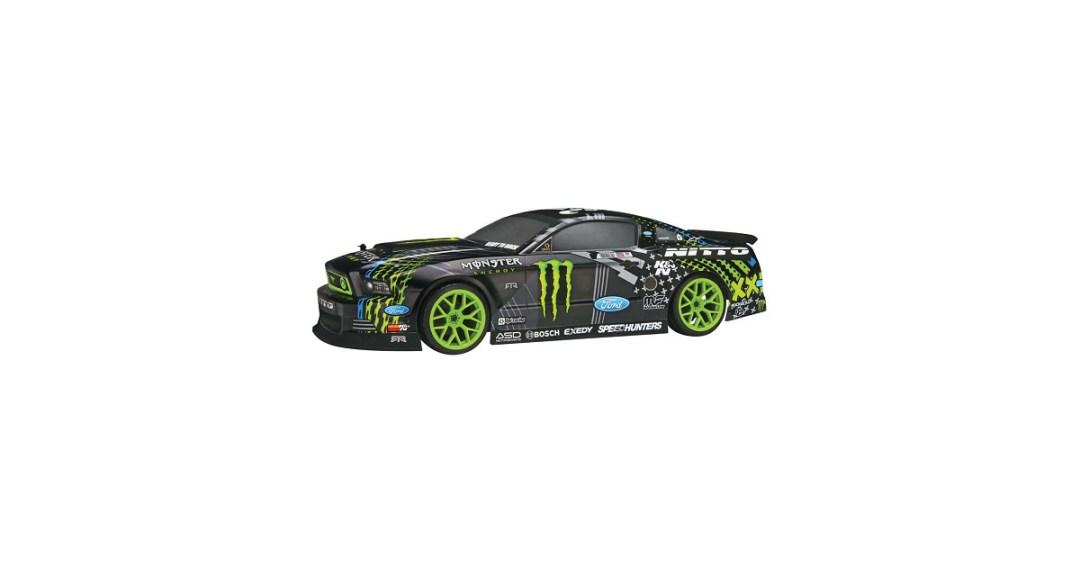 HPI Racing E10 Mustang Drift Monster Energy RC Car Gold Pick