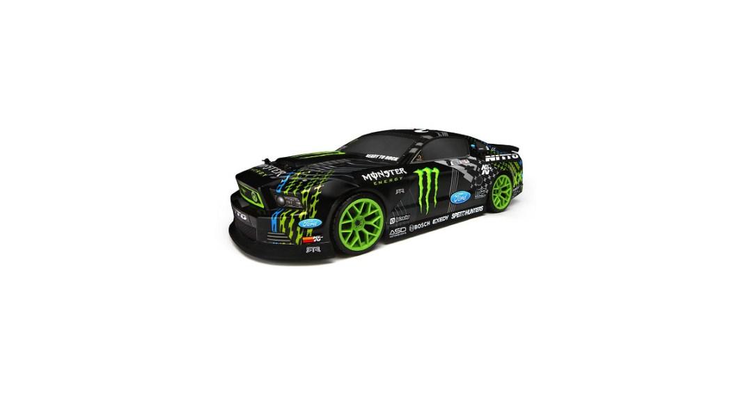 HPI Racing E10 Mustang Drift Monster Energy RC Car