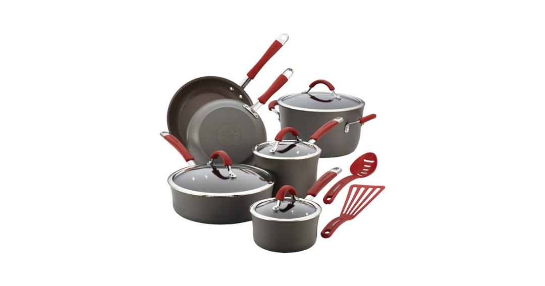 Rachael Ray Cucina Hard-Anodized Aluminum Nonstick Cookware