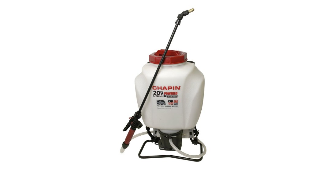 Chapin 4-Gallon Wide Mouth 20v Battery Backpack Sprayer