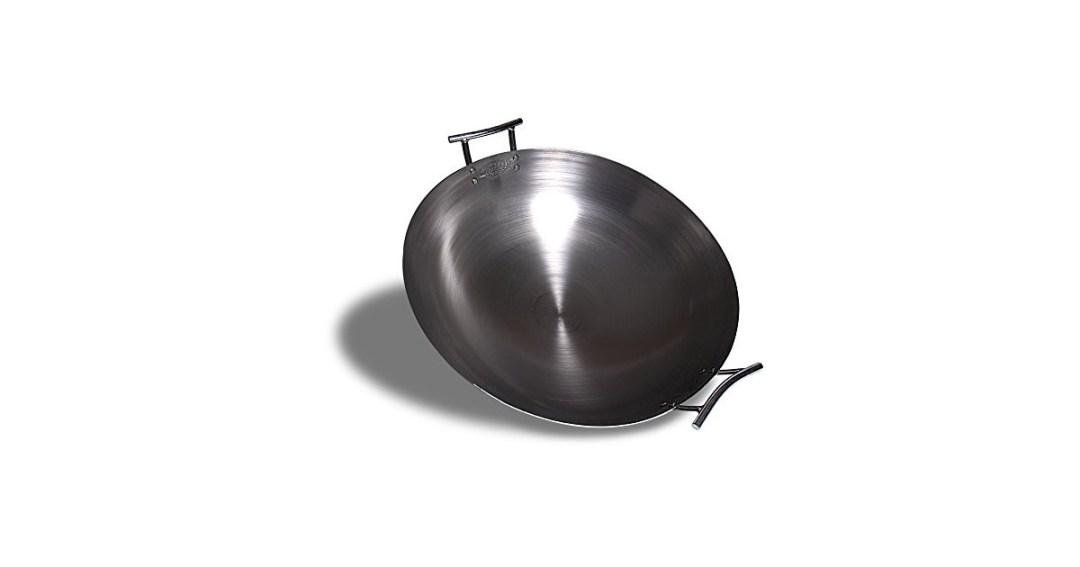 Eastman Outdoors Deep Dish Carbon Steel Wok