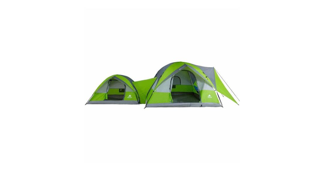 Ozark Trails ConnecTENT 8 Person 2 Dome Tent