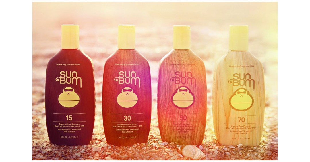 Sun Bum Moisturizing Sunscreen Lotion Gold Pick