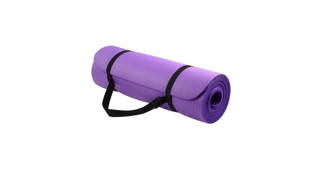BalanceFrom GoYoga All-Purpose Extra Thick High Density Anti-Tear Yoga Mat
