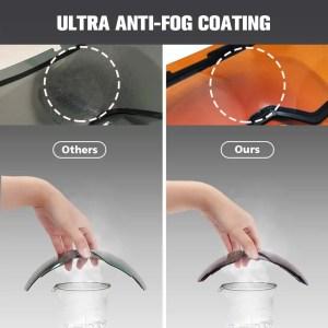 goggle fog coating