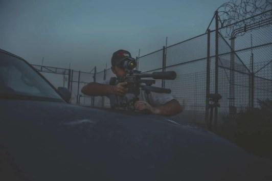 scope on rifle