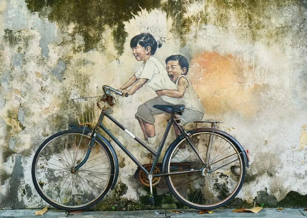 old bike kids
